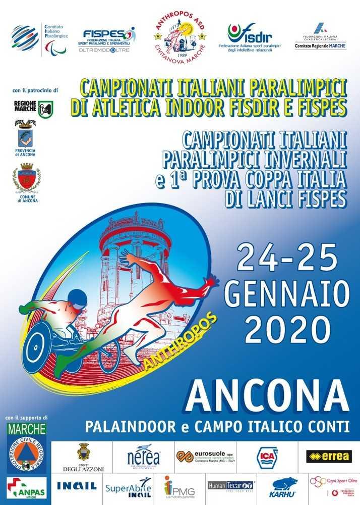 15esima Edizione dei Campionati Italiani Paralimpici di Atletica 2020  – News