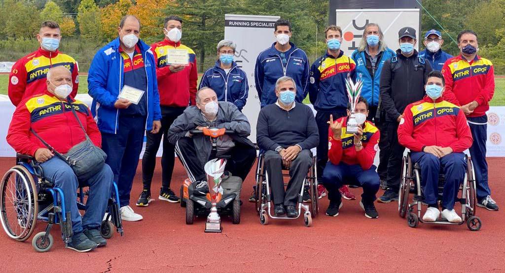 Coppa Italia Lanci Atletica Paralimpica Fispes 2020 – News